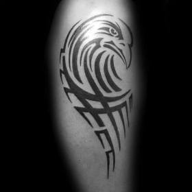 tribal eagle tattoo tattoos leg designs bird mens ink impassioned masterpiece intention regardless panoply certainly flight behind take