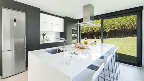 Black and grey kitchens by Santos: designs that add
