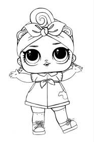 Lol Baby Dolls Colouring Pages Novocom Top