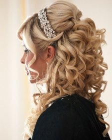hairstyles quinceanera crown bun thick