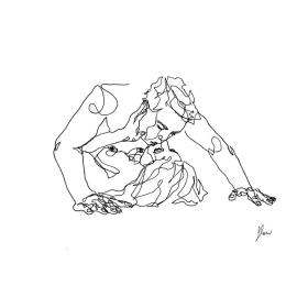 line intimate sketches simple drawings lovers couple female artfido perspective flowsofly depict ecstatic artistic amazing artist couples capture moments uses