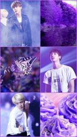 bts aesthetic purple screensavers army hearts them rightful owners cr