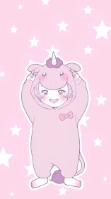 kawaii anime cute wallpapers pastel backgrounds phone background pink unicorn iphone japanese face mobile wallpaperaccess crayons melted palettes wallpapercave discover