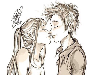 Boy And Girl Kissing Sketch Image Max Installer
