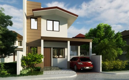 storey floor plan garage elevation designs houses budget sqm pinoy little phd area lot view2 thoughtskoto pinoyhousedesigns stepped pathway stoned