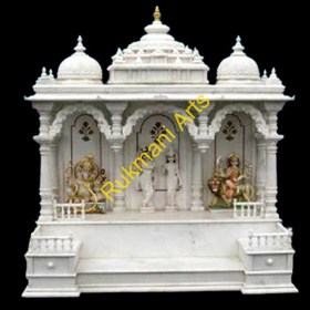 marble mandir temple wooden temples hindu designs carved indian india furniture code rukmaniarts