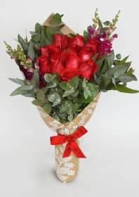rosas rojas ramo bouquet flores flowers ramos roses delivery df domicilio flower throughout send