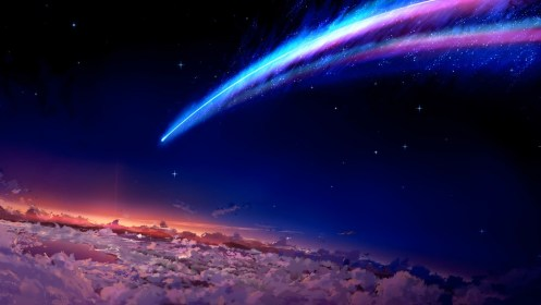 anime space wallpapers kimi wa na hd desktop backgrounds computer sky aurora outer 4k earth background 1920 px landscape 1080