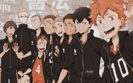 haikyuu pc laptop anime karasuno computer aesthetic desktop wallpapers hinata kageyama backgrounds wallpaperaccess funny mobile afkomstig