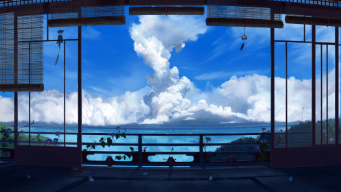 lo fi moving wallpapers anime background backgrounds wallpaperaccess
