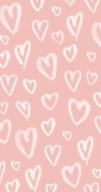 pink pastel hearts iphone wallpapers backgrounds phone heart background pattern panpins blush cute aesthetic slime обои patterns screen lock pastels