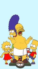 simpsons wallpapers hd sad simpson iphone px wallpapercave background backgrounds cave plus wallpaperplay