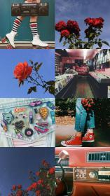 aesthetic retro wallpapers 80s backgrounds cartoon desktop aesthetics laptop collage roses asked rose pastel google requested wallpaperaccess bts teahub io