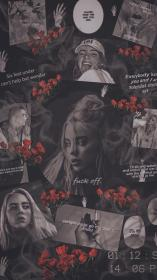 billie eilish aesthetic wallpapers fond collage ecran iphone sky backgrounds agustinmunoz fille fondos wallpaperaccess