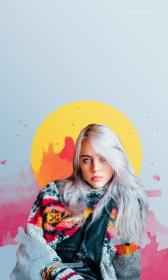 billie eilish wallpapers hd eyelash backgrounds android edit awesome wallpapercave