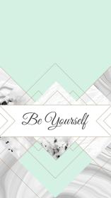 mint wallpapers iphone lock screen quotes fondos backgrounds pantalla marble phone achtergronden rose kawaii yourself mobile gray desktop apple girly