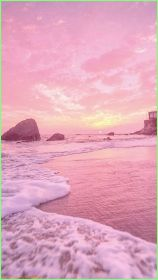 aesthetic pink wallpapers landscape iphone