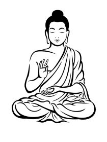 Buddha clipart vector, Buddha vector Transparent FREE for