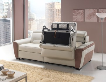 Canapé relax convertible double couchage Terre Meuble