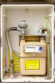 meter gas installation box closeup domestic preview shutterstock