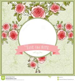 beautiful vintage background wedding roses space text 32187515