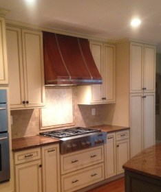 hood kitchen range copper french country hoods cabinet microwave stainless metal steel themetalpeddler inspiration arts sources awesome crafts kitchensio
