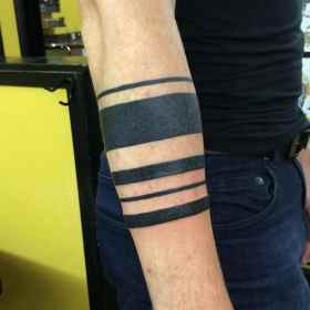tattoo armband tattoos designs arm band meaning significant popular most tribal meanings sleeve ink meaningful straight bracelet symbol geometric