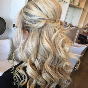 hairstyles wedding guest hair guests updo half long formal styles bride curly down prom hairstyle mother medium easy lovely weddings