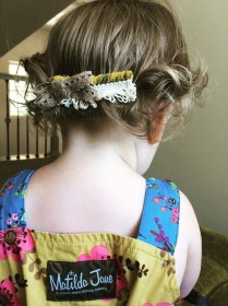 toddler hair hairstyles short easy hairstyle adorable styles simple updo braid therighthairstyles ponytail princess haircuts pretty incredible foliver child source