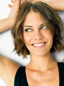 wavy short hair middle hairstyles thick cuts