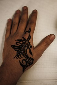 tattoo hand tattoos boys designs simple tribal unique amazing deviantart tatoo hands butterfly drawings left inspire awesome side miscellaneous patterns