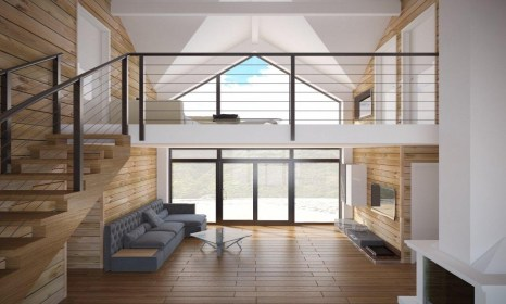 Affordable Home Modern Small House Plans One Story Cottage