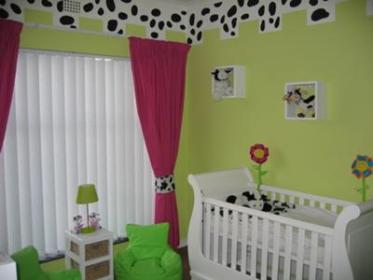 nursery cow baby yourself theme room funky decorating diy unisex decor themes unique themed lime rooms pink decorations africa south