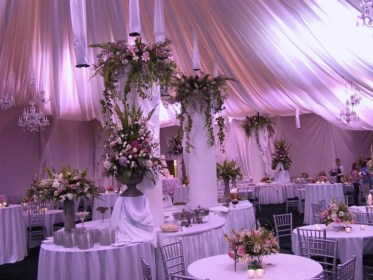 reception wedding decor elegant decorating inexpensive party tips spring