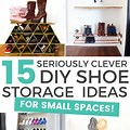 Diy Shoe Storage For Small Spaces