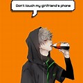 Bakugou Dont Touch My Phone Wallpaper Anime
