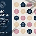Colorful Instagram Highlight Covers