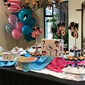 Table Gender Reveal Ideas Decorations