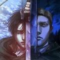 Aot Erwin And Levi Wallpaper