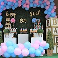 Gender Reveal Ideas Decorations Outside
