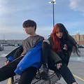 Aesthetic Ulzzang Best Friend Boy And Girl