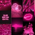 Grunge Pink And Black Aesthetic Wallpaper