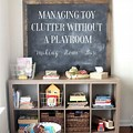 Small Living Room Toy Storage Ideas