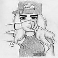 Cute Girl Cute Pencil Drawing Images Easy