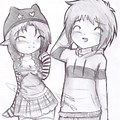 Pencil Drawing Cute Best Friend Drawings Boy And Girl Easy