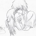 Pencil Drawing Girl And Boy Love Drawing