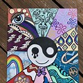 Canvas Aesthetic Hippie Trippy Paintings Easy