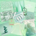 Pastel Green Cute Green Aesthetic Background