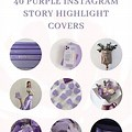 Tumblr Icons Instagram Highlight Cover Purple