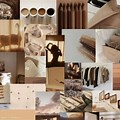 Collage Wallpaper Aesthetic Brown Hd